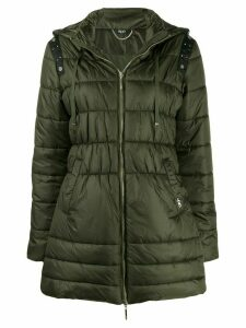 LIU JO studded detail padded jacket - Green