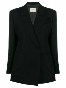 We11done double-breasted fitted blazer - Black