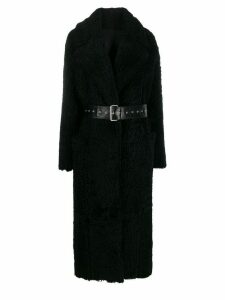 Common Leisure oversized single-breasted coat - Black