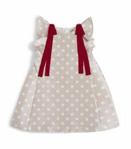 Polka Dot Trapeze Dress
