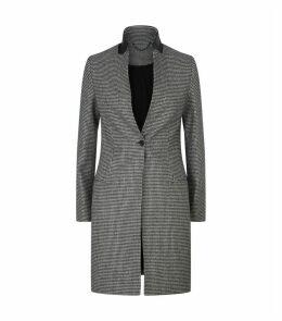 Leni Houndstooth Coat
