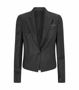 Wool Tailored Blazer