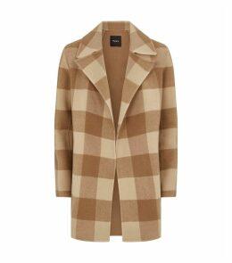 Overlay Check Coat