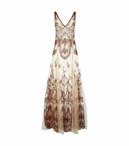 Lace Embroidered Nightdress