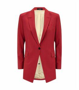 Good Wool Single-Breasted Blazer