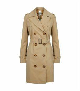 Gabardine Belted Trench Coat