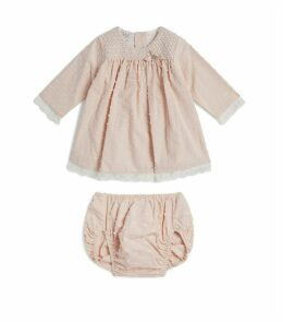 Dot Dress and Bloomers