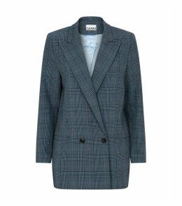 Check Tailored Blazer