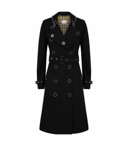 Kensington Heritage Ring-Pierced Trench Coat