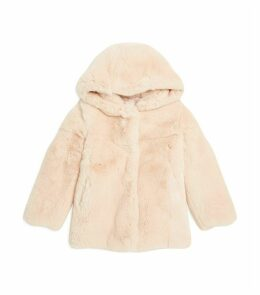 Rex Rabbit Hooded Coat