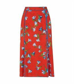 HugoFloral Print Skirt