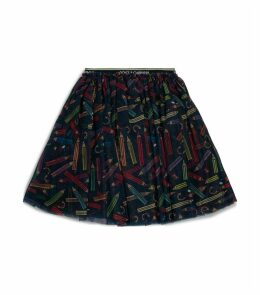 Graphic Tulle Skirt