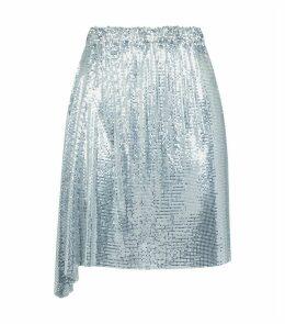 Chain Mail Mini Skirt