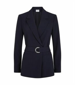 Belted Tailored Blazer