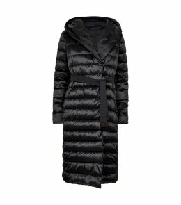 Reversible Belted Puffer Coat