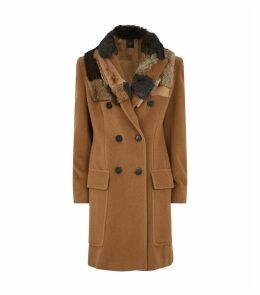 Ricetta Fur Collar Coat