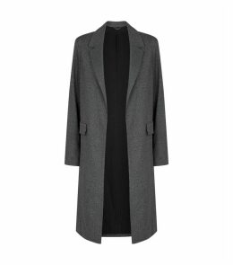 Aleida Check Duster Coat