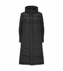 Longline Down Puffer Coat