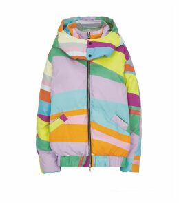 Rainbow Padded Down Coat