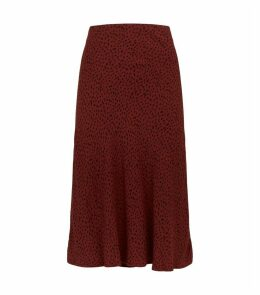 Rust Spotted London Skirt