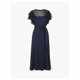 L.K.Bennett Ello Tie Waist Dress, Midnight