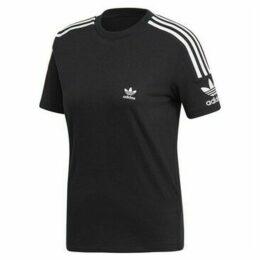 adidas  Lock UP Tee  women's T shirt in Black