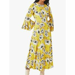 Ghost Luisa Floral Midi Dress, Patty Poppy Ditsy