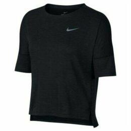 Nike  Drifit Medalist  women's T shirt in Black