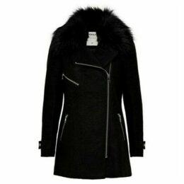 Only  ABRIGO DE MUJER  women's Coat in Black