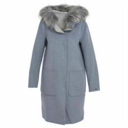 Oakwood  Long woolen coat  women's Coat in Blue