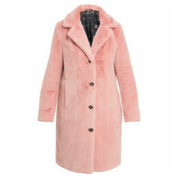 Oakwood  Fur imitation coat CYBER  women's Coat in Pink