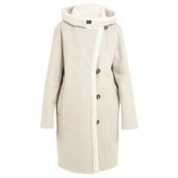 Oakwood  Long imitation woolen coat LEONIE  women's Coat in Grey