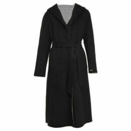 Oakwood  Long coat in reversible wool  women's Coat in Black