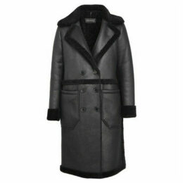 Oakwood  Long coat FEELING  women's Coat in Black