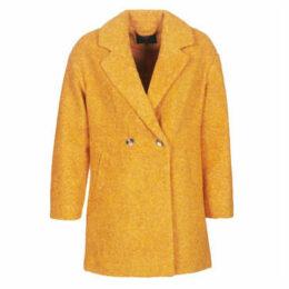 Only  ONLNINA  women's Coat in Yellow