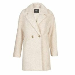 Only  ONLNINA  women's Coat in Beige