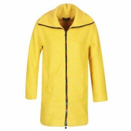 Desigual  LAND  women's Coat in Yellow