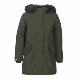 Schott  JKTHELENSW  women's Parka in Green