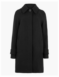 M&S Collection Wool Blend Overcoat
