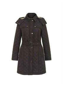 Poppy Coat Black