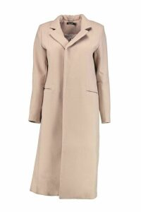 Womens Tailored Coat - beige - M, Beige