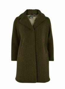 Khaki Teddy Borg Coat, Khaki