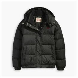 Short Hooded Padded Jacket