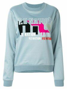 P.E Nation Flex It sweatshirt - Blue