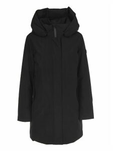 Woolrich Black Marshall Coat