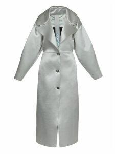 Off-White Duchesse Oversize Coat