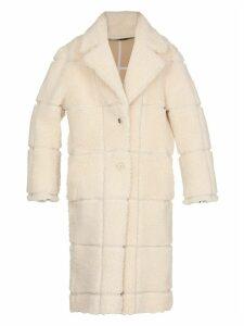 Off-White Shearing Coat