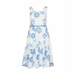 Dusky Floral Cotton Dress