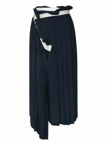 Golden Goose Pleated Asymmetric Skirt