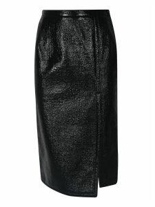 N.21 Slit Detail Pencil Skirt